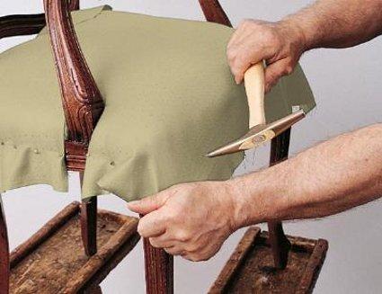 Restaurar sillas antiguas decoraci n y bricolaje - Clavos para tapizar ...