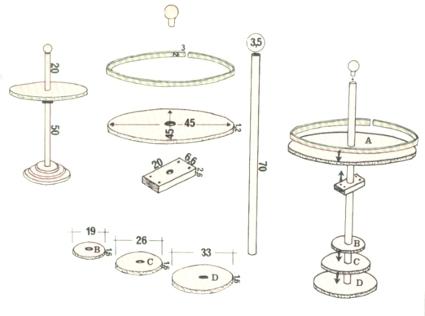 Hacer una mesa auxiliar de madera decoraci n y bricolaje for Como hacer una mesa redonda de madera
