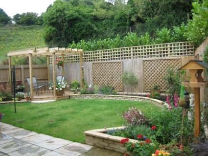 Jard n decoraci n y bricolaje for Ideas para hacer un jardin en casa
