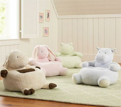 Sillones en forma de animales para habitaciones infantiles - Sillones para espacios reducidos ...