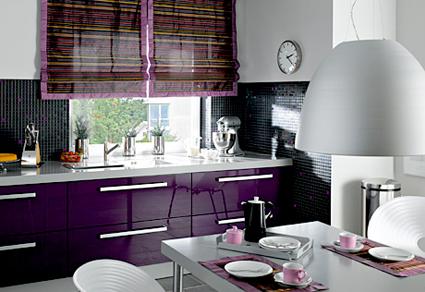 Cocinas decoraci n y bricolaje for Cocinas moradas modernas