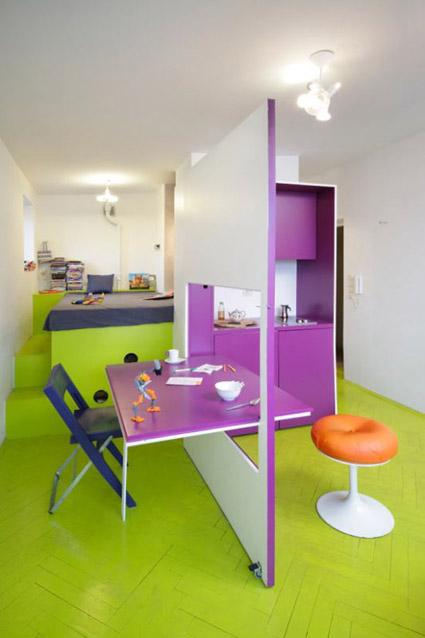 Baño De Regadera Cancion Infantil:Un apartamento colorido « Decoración y Bricolaje