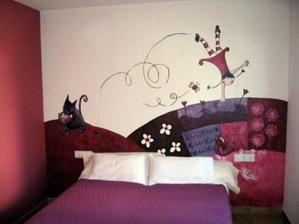 Manualidades decoraci n y bricolaje - Pinturas decorativas en paredes ...