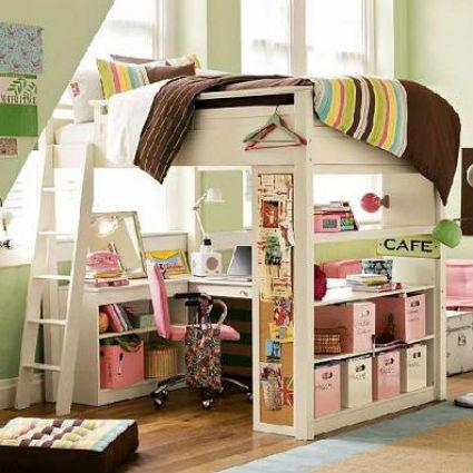Camas elevadas para apartamentos peque os decoraci n y for Soluciones apartamentos pequenos
