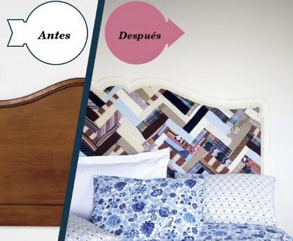 Cabecero de cama personalizado
